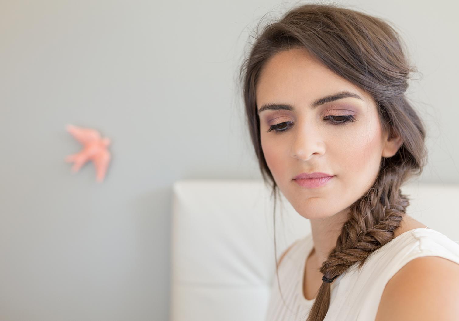 Wedding Makeup Blush Talk